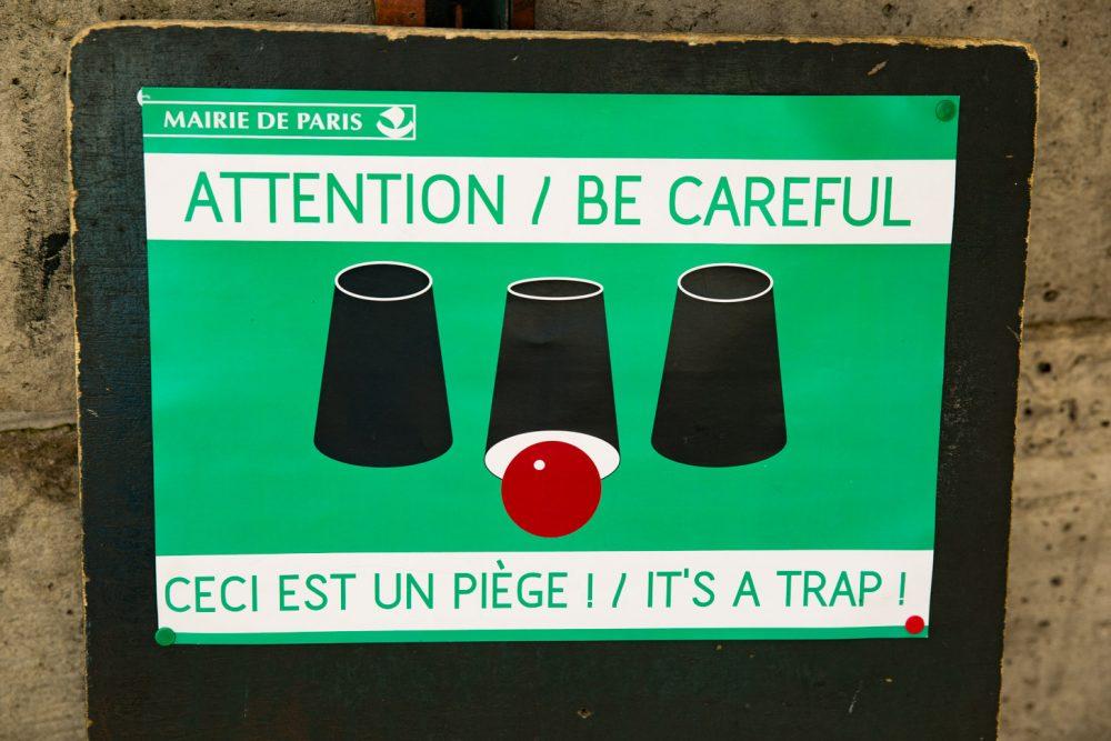 Oplichting in Parijs