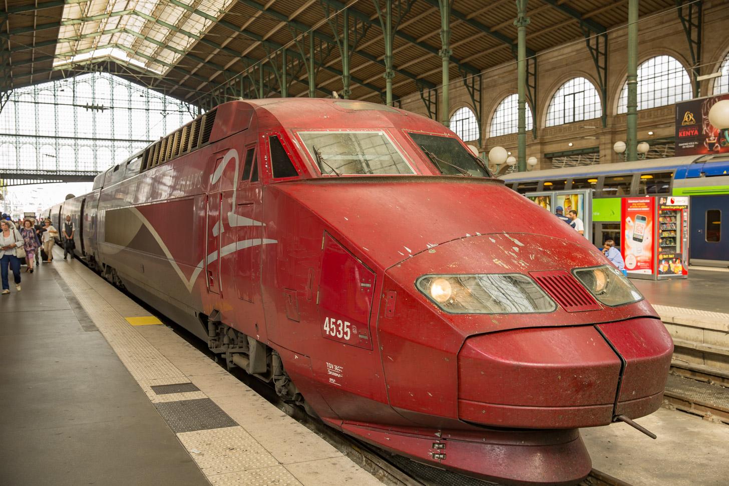 Reizen naar Parijs per trein